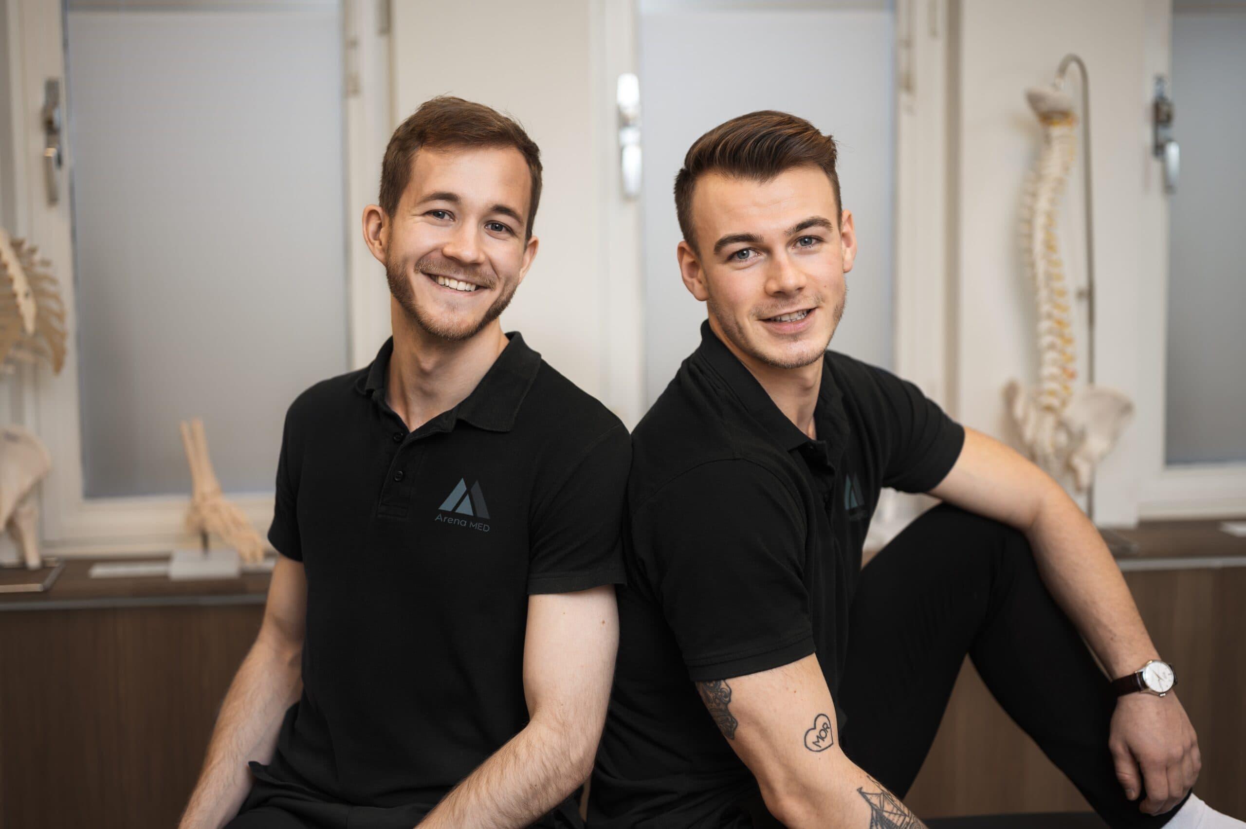 Arena MED team Anders och August
