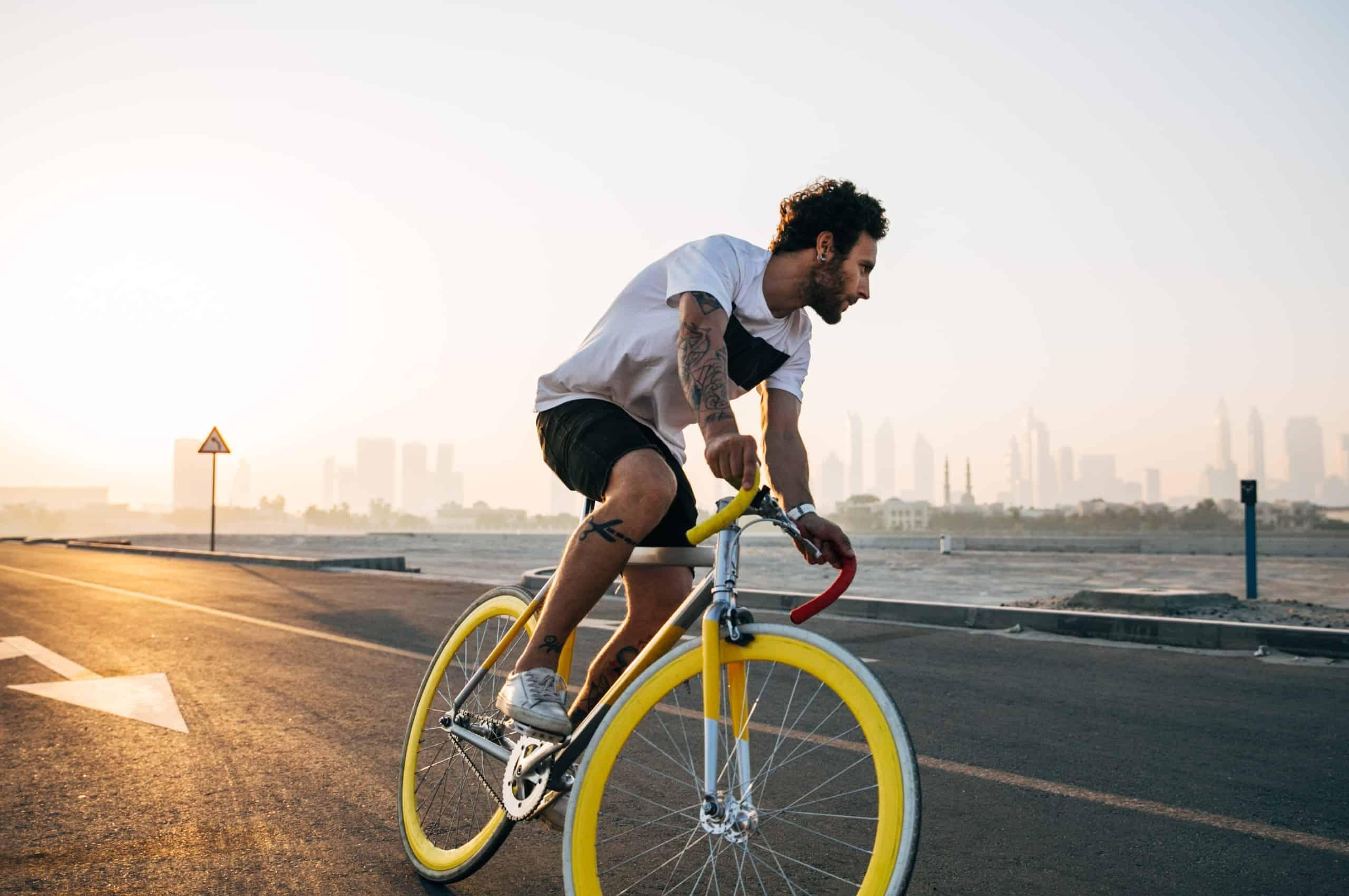 cykeln till jobbet